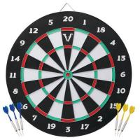 China Viper Double Play Coiled Paper Fiber Dartboard with Darts on sale