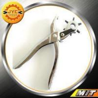Improvement Leather Hole Punch Pliers 9 inch with Multi-size Rotating Wheel Manufactures