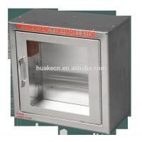 Stainless steel AED defibrillator cabinet with sound alarm Manufactures