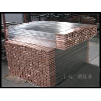 Buy cheap Titanium clad copper Titanium clad copper flat from wholesalers