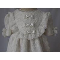 Baptism Embroidery Lace Gown C012 Manufactures