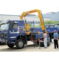 4x4 5T Truck Mounted Crane Knuckle Boom Manufactures