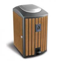 Arlau BW09 outdoor public synt Name:Arlau BW09 outdoor public synthetic wood recycle bin