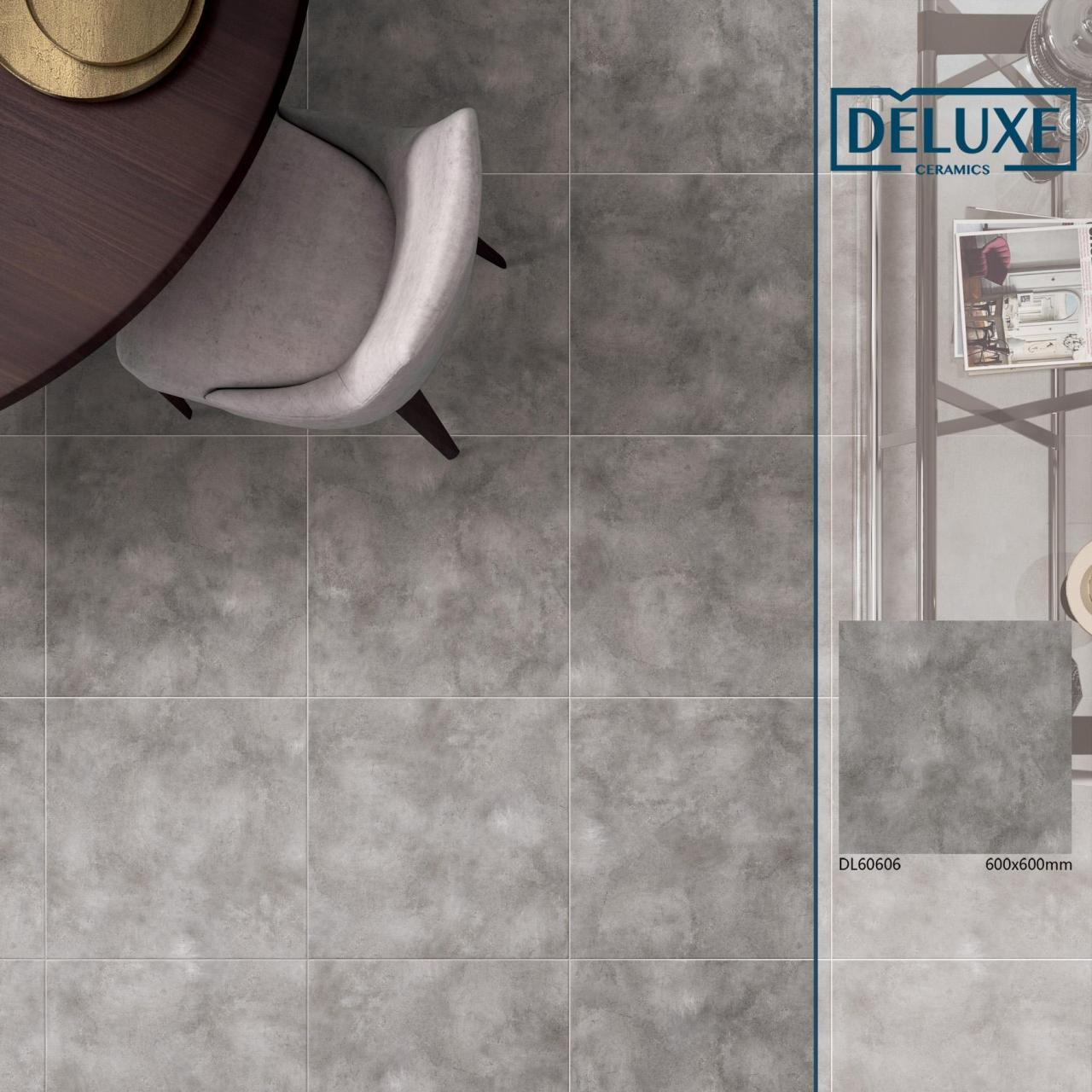 Quality 600x600 full body porcelain rustic cement tile for sale