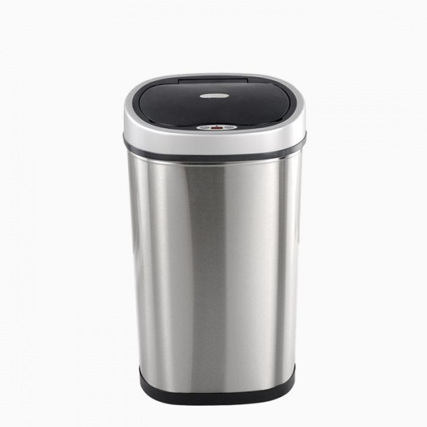Quality Automatic Motion Sensor Stainless Steel Kitchen Trash Can Bed Bath Beyond for sale