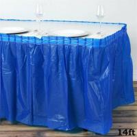 Buy cheap Party Essentials Plastic Table Skirt, 168 Inch Length X 29 Inch Width from wholesalers