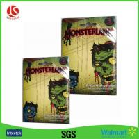 Buy cheap 2017 Top Selling Halloween Door Cover Window Decoration Scary Screaming Green Ghost Set from wholesalers
