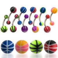 UV Basketball Belly Rings Manufactures
