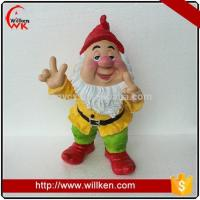 China Animal Statues Custom resin dwarf cheap garden gnome statues on sale
