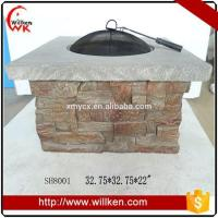 Animal Statues MGO fire pit table outdoor gas fire pit for sale Manufactures