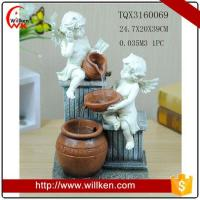 Animal Statues Decorative mini angel indoor water fountain Manufactures