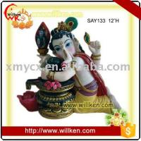 China Animal Statues Polyresin Hindu God, Indian God Statues- Ganesh on sale