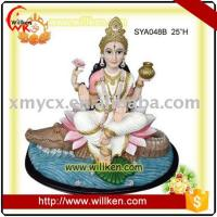 China Animal Statues Polyresin Hindu God- Ganga ma on sale