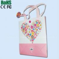 Paper bag with music module Manufactures