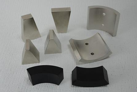 China Motor magnet-Wedge shaped magnet
