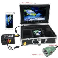10 inch Color Monitor 1000tvl Underwater Wifi Wireless Fishing Video Camera Manufactures