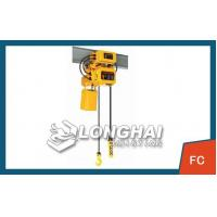 China Air Casters Frequency Conversion Electric Chain Hoist -FC on sale