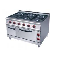 Six Burner Gas Range with Oven HGR(IGR)-996 Manufactures