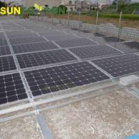 Profesional Design PV Solar Panel Mounting System Aluminum Rail Manufactures