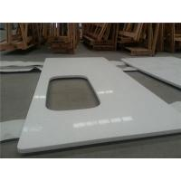 China Countertop&Vanity top White quartz countertops discount solid surface countertops on sale