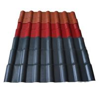 China Building materials roofing sheet sizes synthetic spanish roof tile pvc resin price on sale