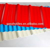 China 2017 new products roof sheets price per sheet heat insulation synthetic plastic roofing sheet PVC on sale