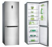 China A+/A++ Class No Frost 60cm High Energy Efficiency Bottom Freezer Refrigerator on sale