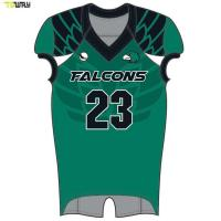 sublimated towaysportswear jersey custom american football jersey Manufactures