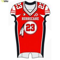 High Quality custom sublimated american football jerseys manufacuterers Manufactures