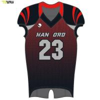 Custom wholesale sublimated youth american football jersey Manufactures