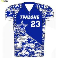 Sublimation custom cheap american football jersey for wholesale Manufactures