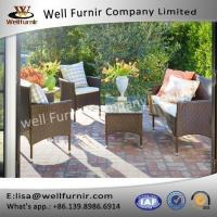 Well Furnir 4-Piece Patio PE Rattam Dining Sofa Chat Set Manufactures