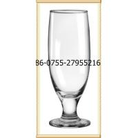 China Glass printing banquet goblet glass on sale