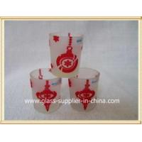China Glass printing Chinese style gift on sale
