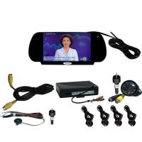 China RVM-7001 7 inch TFT LCD monitor with camera and Parking Sensor on sale