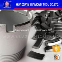 Diamond Core Drill Bit Segments For Diamond Core Cutters Manufactures
