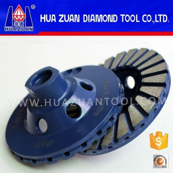 Quality 4.5 Inch Diamond Grinding Disk Stone Side Grinding Wheel Manufacturers for sale