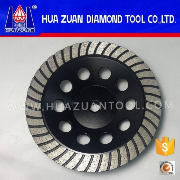 Quality 7 Inch Hand Cement Grinding Diamond Abrasive Wheels for sale