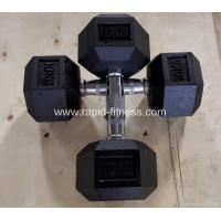 Cheap Selling Gym Rubber Casting Dumbbell RDSE-68 Manufactures