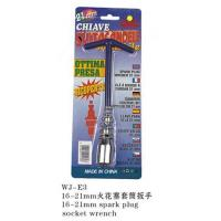 China Socket Wrenches WJ-E316-21mm spark plug socket wrench on sale