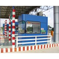 Integral toll booth