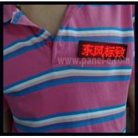 China Led Badge Product:Led Scrolling Message Tag Hotel Worker Using on sale