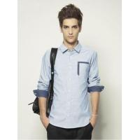 Campus Casual Style Long Sleeve Shirt for Men Manufactures