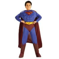 Buy cheap Costumes For Boys DC Comics Deluxe Muscle Chest Superman Child's Costume, Medium from wholesalers