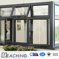 China Cheap Price PVC / UPVC Awning Window Top Hung Window From China Factory on sale