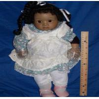 Buy cheap Toys Frances Lynne 1988 Stephanie Black African Afro American Global Dolls Porcelain from wholesalers