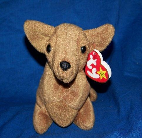 Quality Toys Ty Beanie Baby Dotty Weenie Puppy for sale
