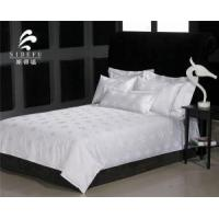 Factory Wholesale Cheap White 100 Cotton Jacquard Bed Sheet Manufactures