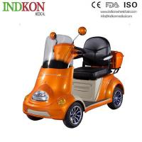 China Medicare Electric 2 Person Mobility Folding Disability Handicap Mobility Scooters INH614 on sale