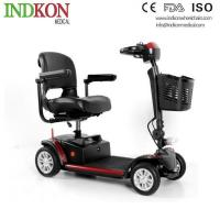 China Travel Folding Lightweight Electric Wheelchair Scooter IND513 on sale